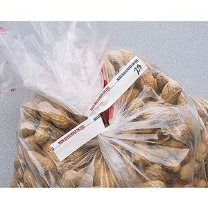 Twist Ties White Paper Bulk Food Twist Ties - 6
