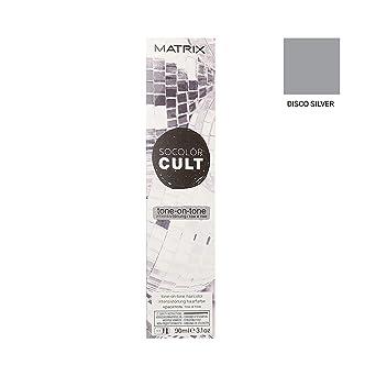 Matrix Socolor Cult Tone-On-Tone Tinte de pelo, Color Disco Silver - 90 ml