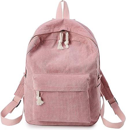 Dabixx Cord Rucksack, Damen Cord Handtasche Handtasche