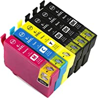 Generic Epson 39XL 39 Ink Cartridges for Epson Expression Home XP2105 XP4105 (3BK+1C+1M+1Y)