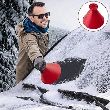 Amazon.es: Rascador de hielo mágico, Rascador de nieve mágico, Herramienta multifunción para coche removedor de nieve para el limpiaparabrisas de parabrisas ...
