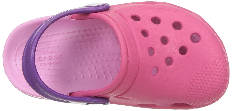 Paradise Pink//Carnation Crocs Electro III Kids Clogs