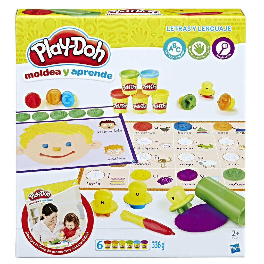 Play-Doh - I Learn Letters and Words (Hasbro b3407105) by Play-Doh