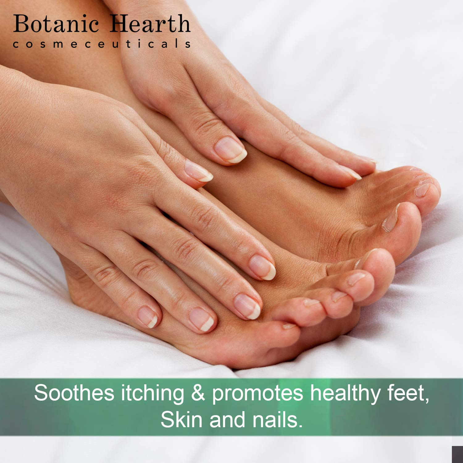 BOTANIC HEARTH Tea Tree Body Wash Helps Nail Fungus Athletes Foot Ringworms Jock Itch Acne Eczema