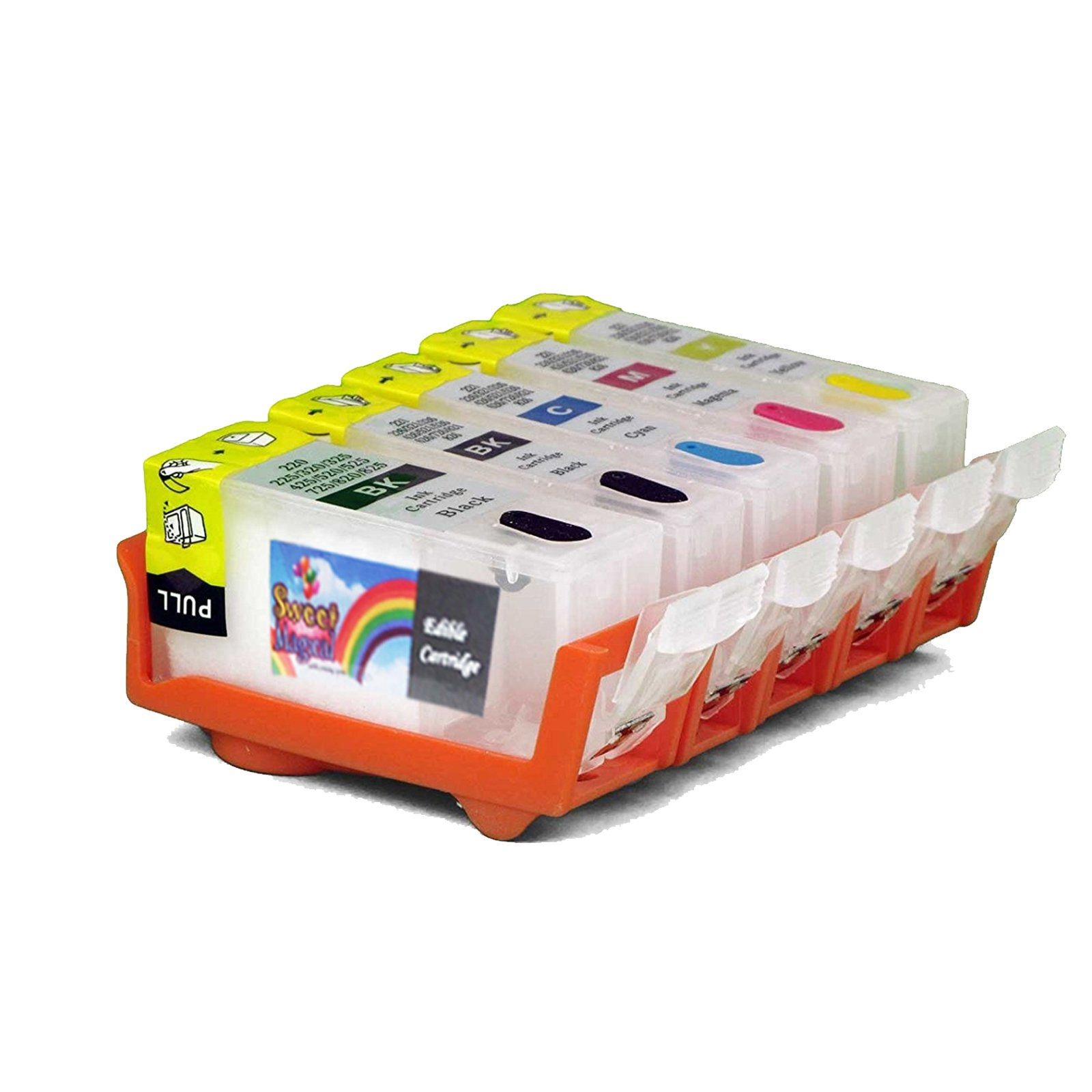 Edible Ink Cleaning Cartridges for Canon PGI-250/CLI251 Five pack