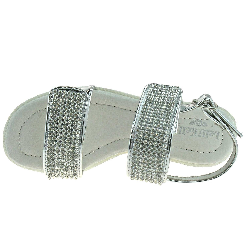 Lelli Kelly Splendid Sandalo Tacco Largo Velcro S. RwN7zBq