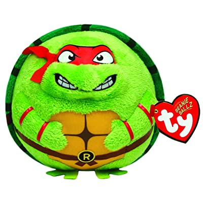 Ty Beanie Ballz Raphael Mask, Red: Toys & Games