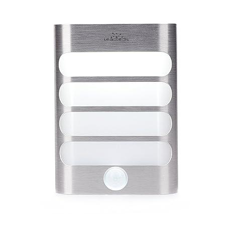Leadleds funciona con pilas Sensor de movimiento luz de pared para escalera, luces de seguridad