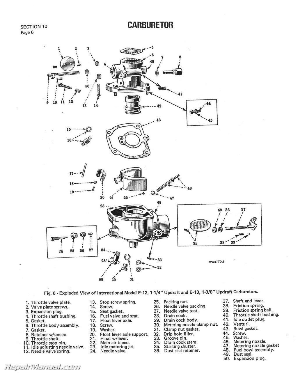 ih-s-super-c international harvester farmall tractor engine clutch  transmission service manual: by author: amazon.com: books  amazon.com