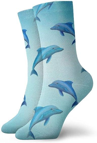 Tammy Jear Pack de calcetines de vestir para hombre, calcetines azules brillantes y divertidos de poliéster: Amazon.es: Ropa y accesorios