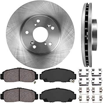 OE Replacement 2001 2002 Honda Accord Cpe 4Cyl Rotors Ceramic Pads R
