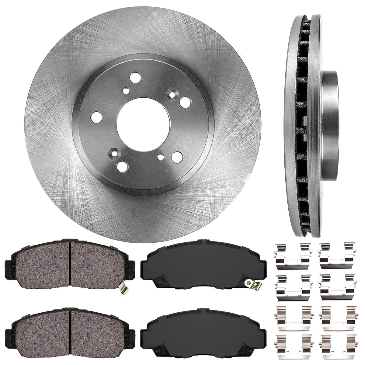 Front Brake Calipers And Rotors /& Pads For HONDA ACCORD COUPE SEDAN ACURA CL