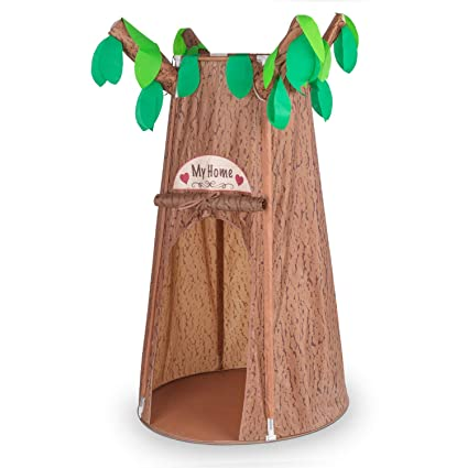 Kids Play Tent Forest Hollow Tree House Tents for Girl Boy Toddlers Pretend  sc 1 st  Amazon.com & Amazon.com: Kids Play Tent Forest Hollow Tree House Tents for Girl ...