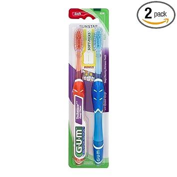 Amazon.com: GUM Micro Tip - Cepillo de dientes: Industrial ...