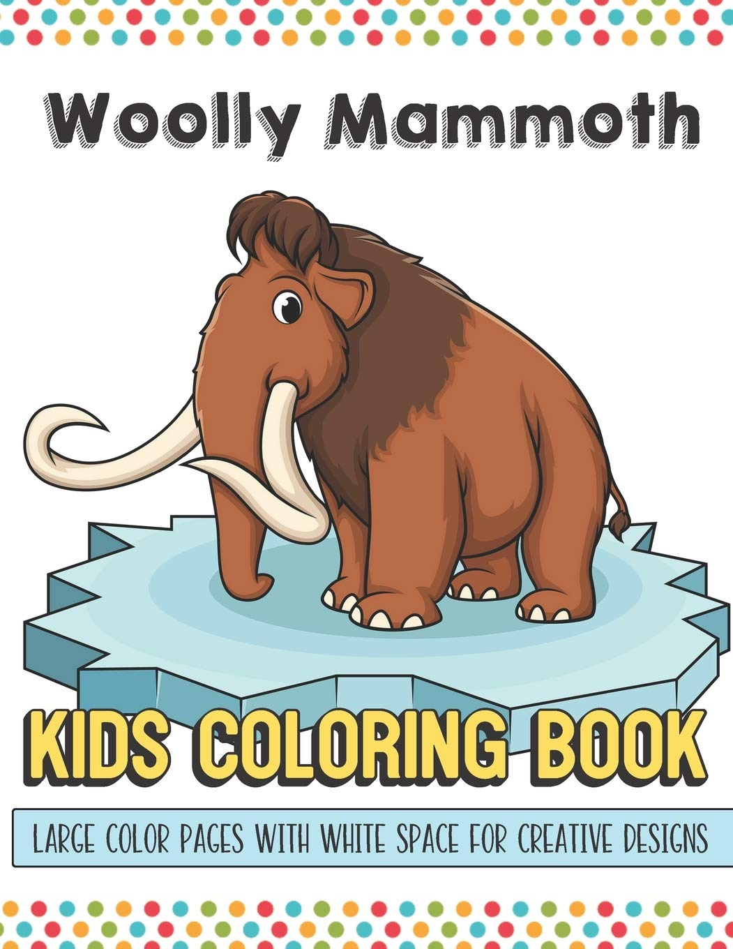 Mammoth coloring page | 1360x1051