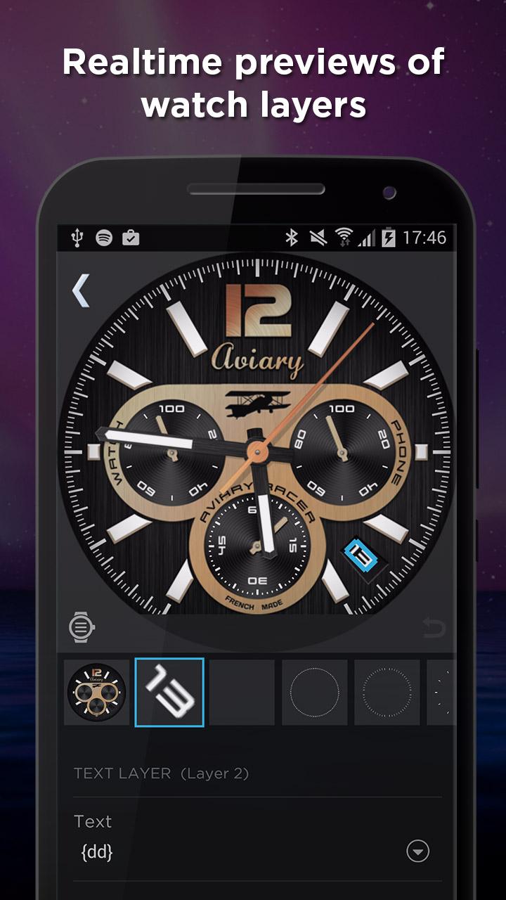 WatchMaker Premium Watch Face: Amazon.es: Appstore para