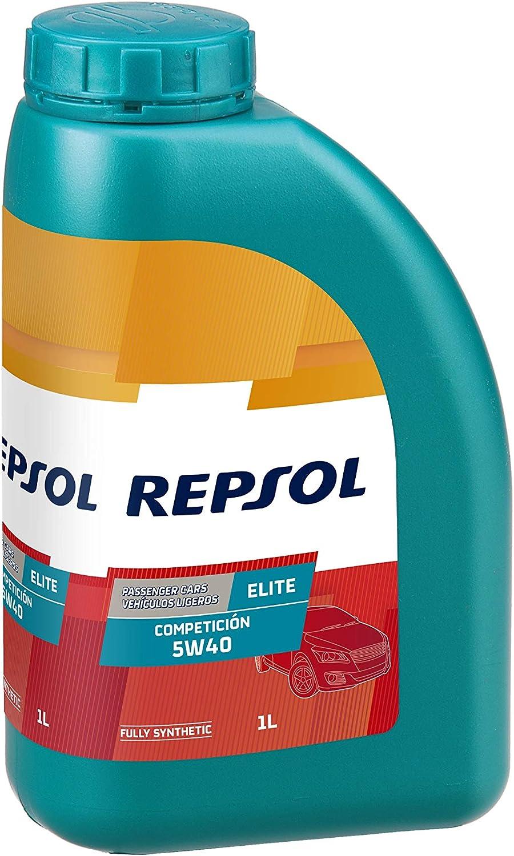 Repsol RP141L51 Elite Competicion 5W-40 Aceite de Motor para Coche ...