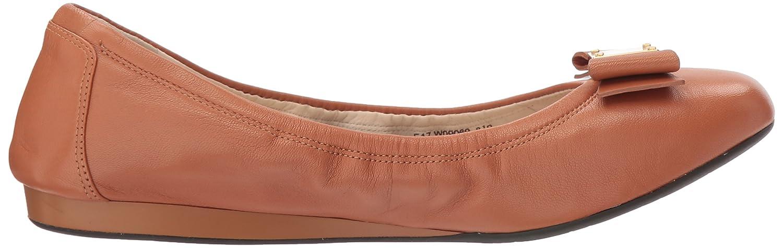 Cole Haan Women's Tali Bow Ballet Flat B06X6M7YZ5 7 2A US|British Tan Leather
