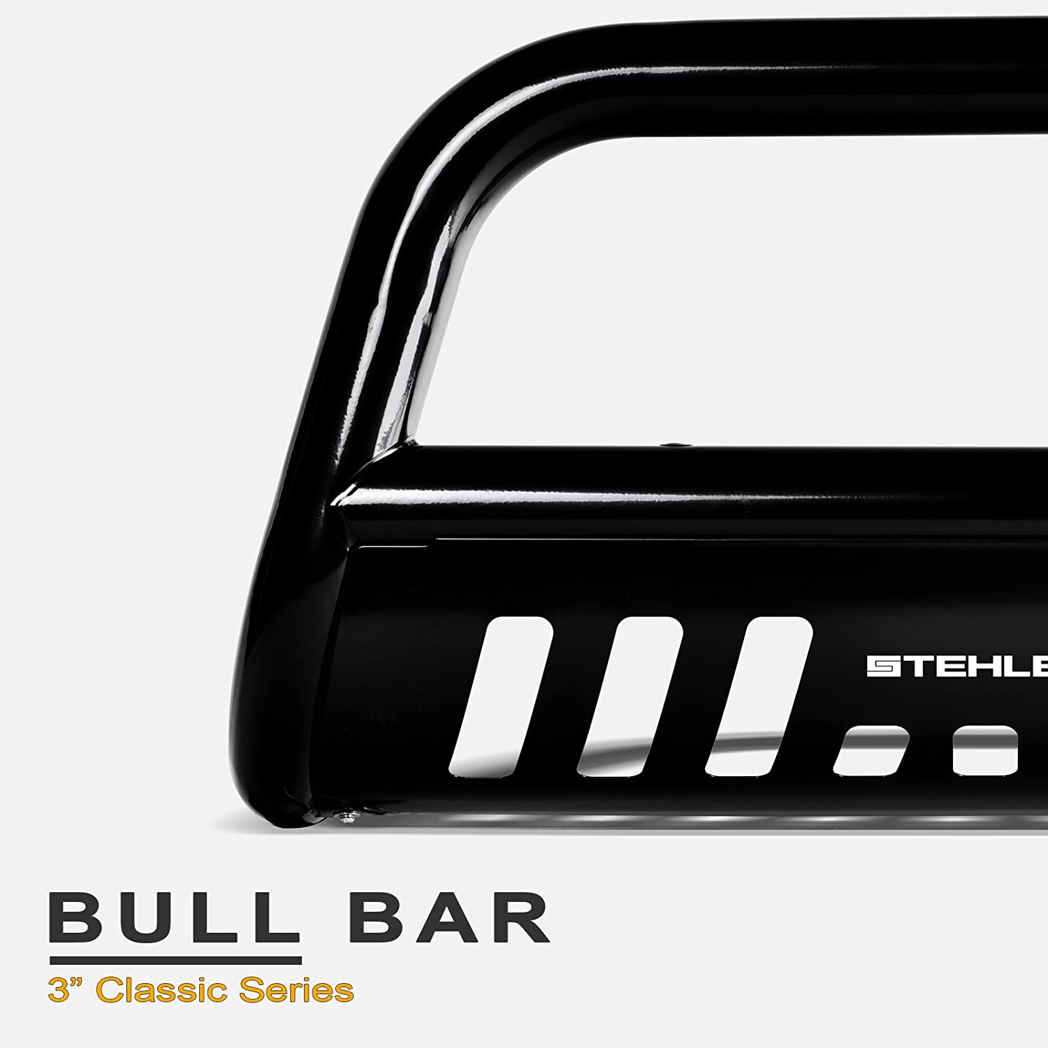 with 120W CREE LED Light Bar For 2007-2020 Toyota Tundra Stehlen 714937187986 3 Classic Series Bull Bar 2008-2020 Sequoia Black