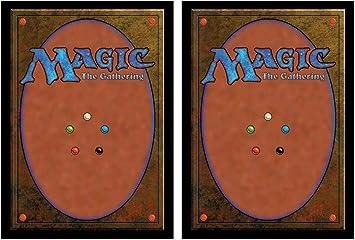 200 Ultra Pro Classic Magic Card Back Standard - Fundas Protectoras para Cartas: Amazon.es: Juguetes y juegos