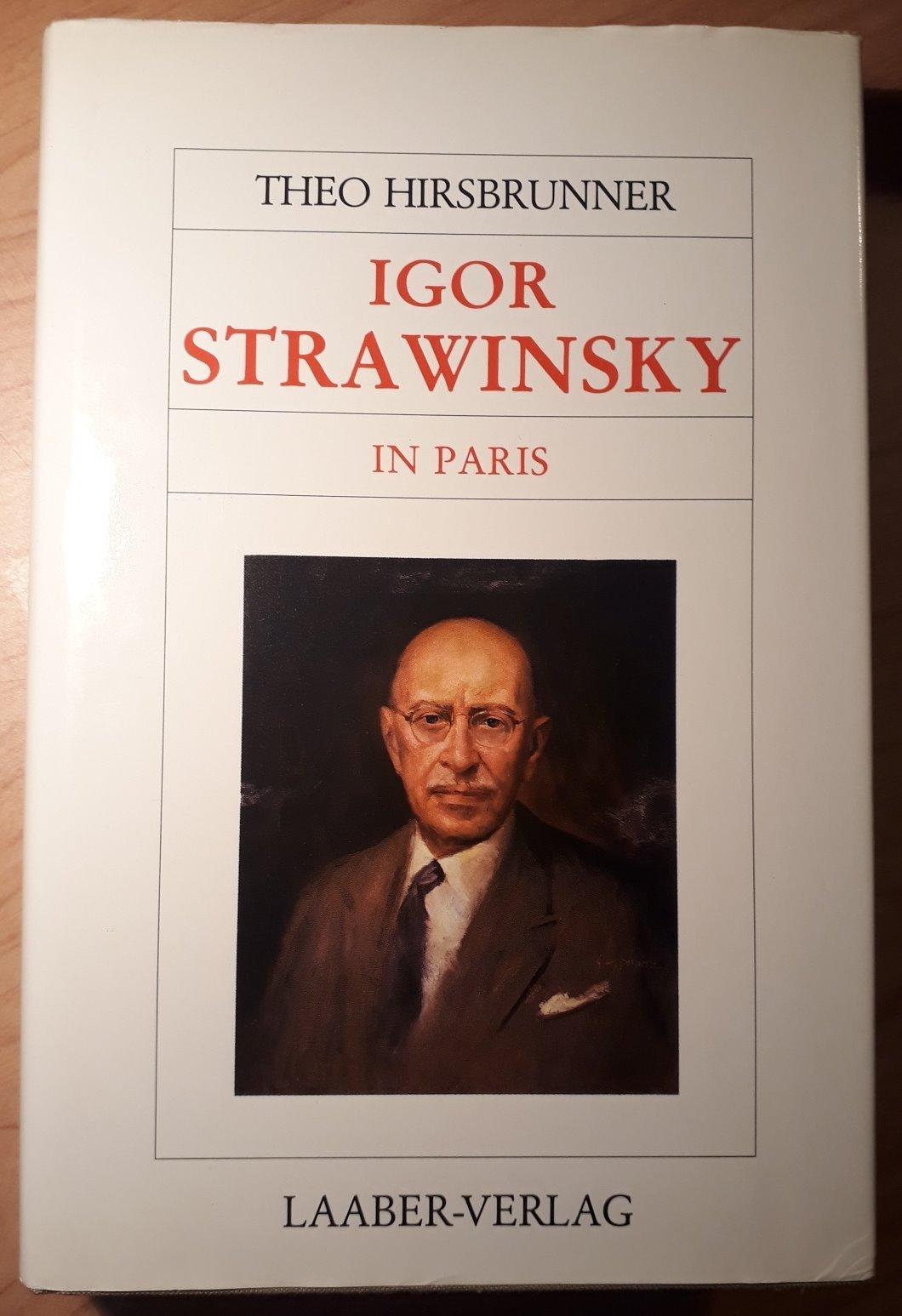 Große Komponisten und ihre Zeit, 25 Bde., Igor Strawinsky in Paris