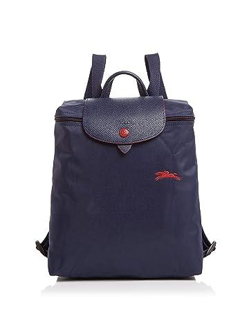fd879e2e4d Amazon.com | Longchamp Le Pliage Club Nylon Backpack (Navy) | Casual  Daypacks