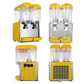 Bisujerro Dispensador de Bebida Frío 250W/380W Dispensador para Jugo Caliente y Frío Dispensador para Bebidas ...