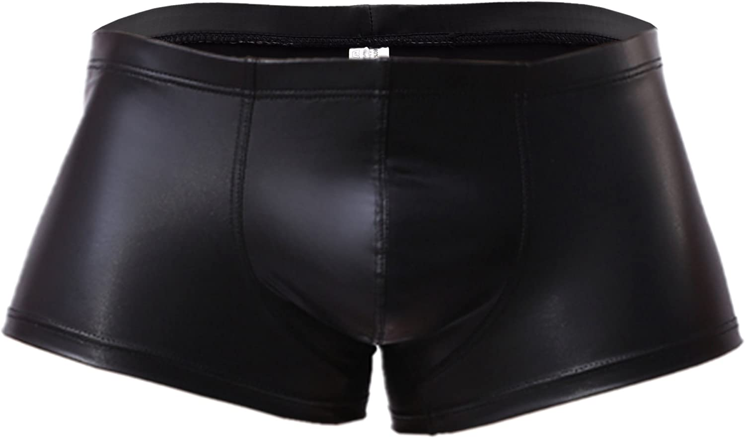 Underwear Boxer Briefs Shorts Knickers Underpants 34 Men Faux Leather Wet