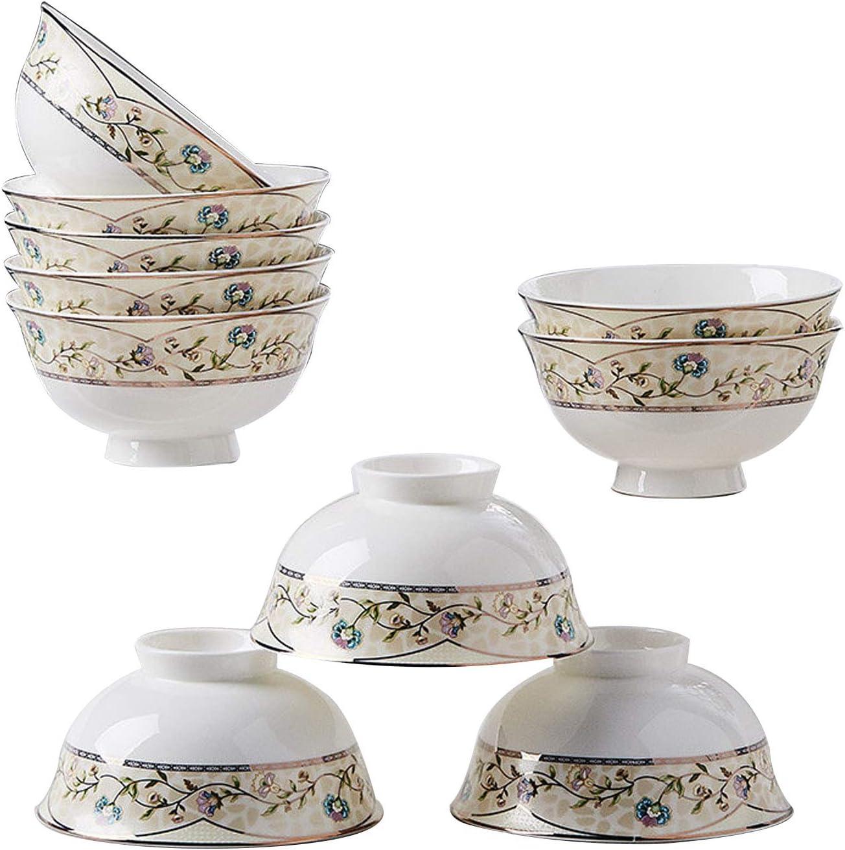 Amazon.com  Ceramic Bowl/Bone China, 5 Pieces/Chinese Porcelain