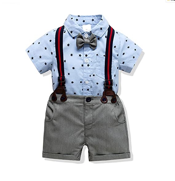 Amazon.com: FullGood - Conjunto de bebé para caballero con ...