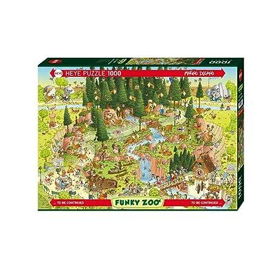 Heye Black Forest Habitat Puzzles (1000-Piece): Toys & Games