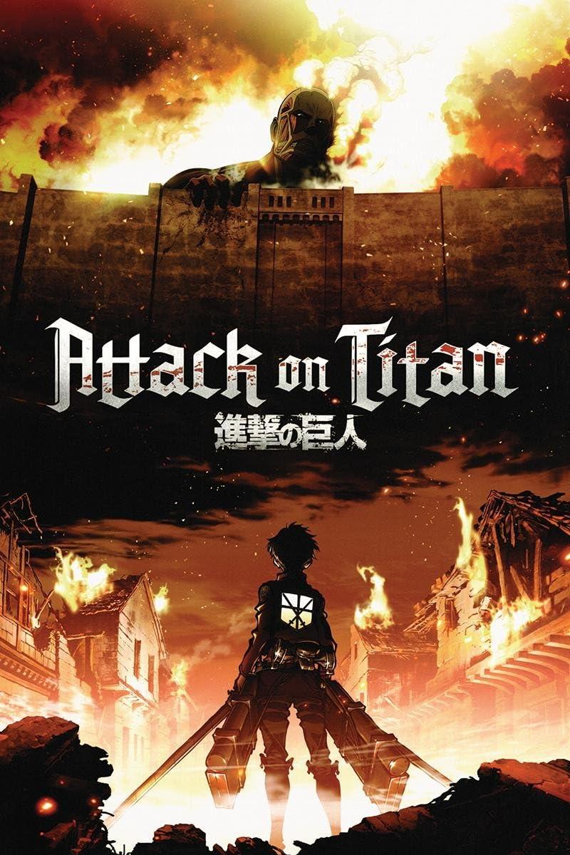 Póster XXL Attack On Titan/Ataque a Titán