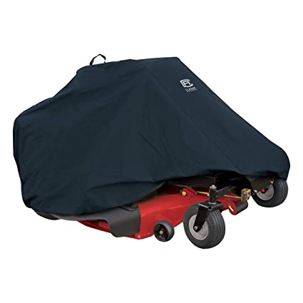Classic Accessories Zero Turn Riding Lawn Mower Cover, Up to 50