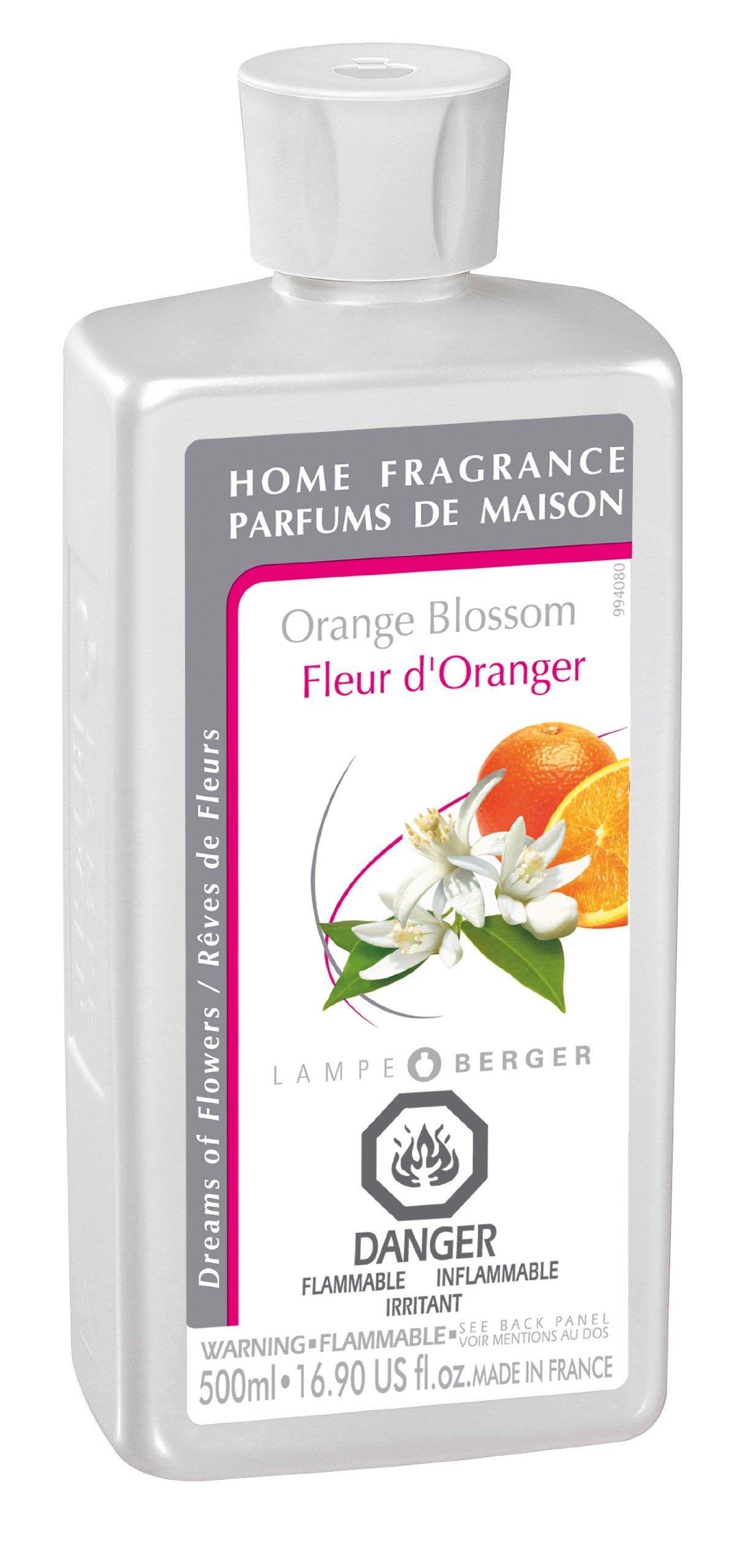 lampe berger fragrance orange blossom 500ml 16 9 amazon. Black Bedroom Furniture Sets. Home Design Ideas