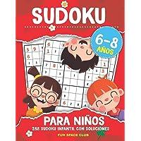 Sudoku para Niños 6-8 años: 288 Sudoku Infantil con Soluciónes / Pasatiempos para Niños 6 7 8 años (Sudoku Infantil 6-8…