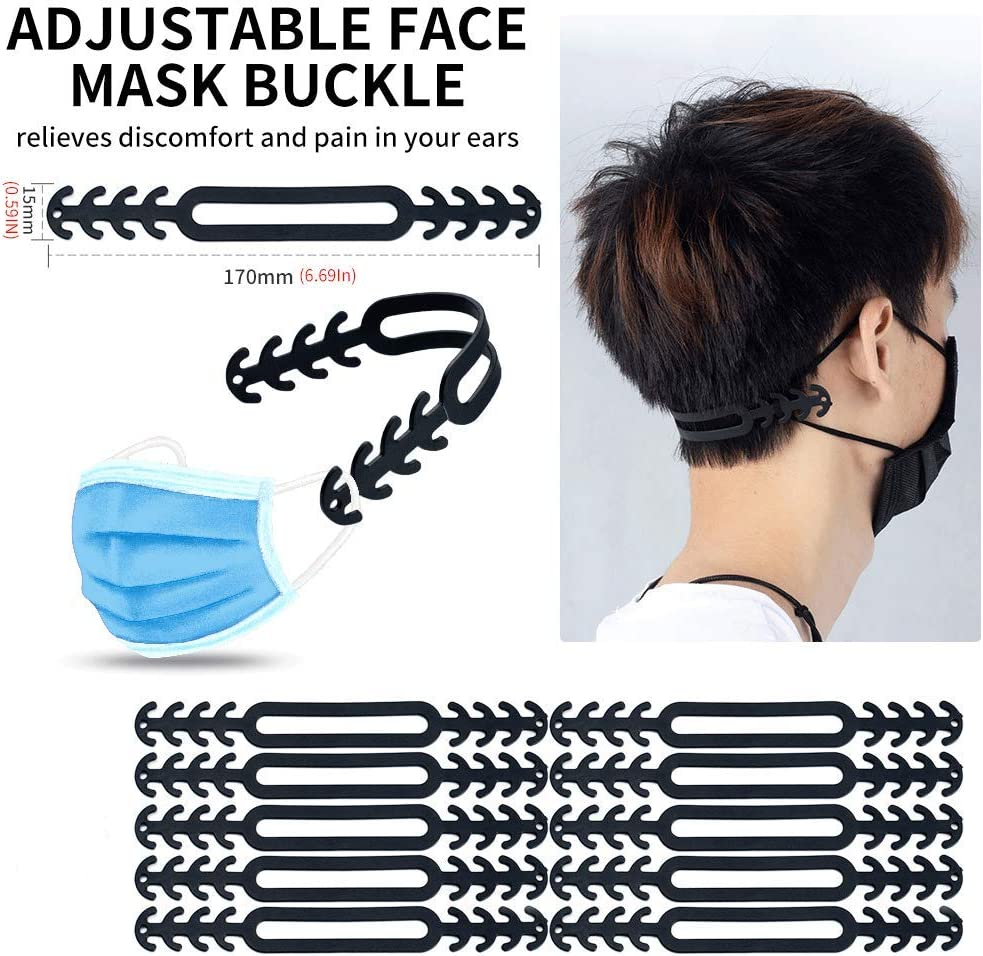 mmmm Mask Extender Anti-Tightening Ear Protector Decompression Holder Hook Ear Strap Accessories Ear Grips Extension Mask Buckle Ear Pain Relieved