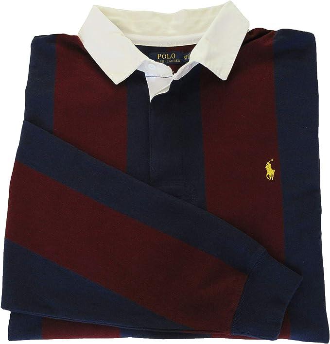 Ralph Lauren Polo - Camiseta de Rugby para Hombre, Manga Larga ...