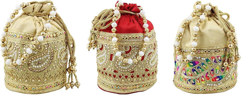 Wedding Accessory Indian Gotta Patti Potli Bag Antique Bronze Gold Crochet Jute Tote Bag Wedding Bridal Tote Bag Statement Batwa bag
