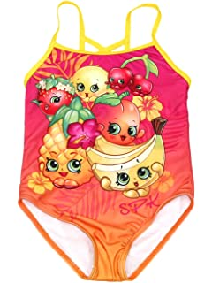 b061025916fc7 Amazon.com: Shopkins Girls' Two Piece Tankini Swimsuit: Clothing