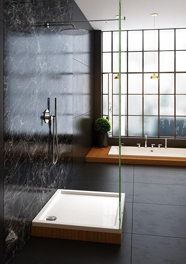 Galdem Variante plato de ducha, 70 cm x 80 cm: Amazon.es: Hogar