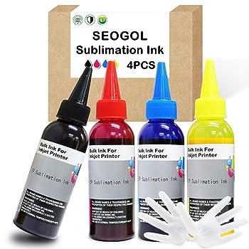 Seogol Sublimation Ink for Epson Inkjet Printers