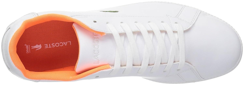 Lacoste Women's Graduate 118 1 SPW Sneaker B071X86WDY 6 B(M) US|White/White