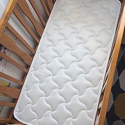 NATURALIA talla 120x60cm color blanco Colchon cuna thermofress