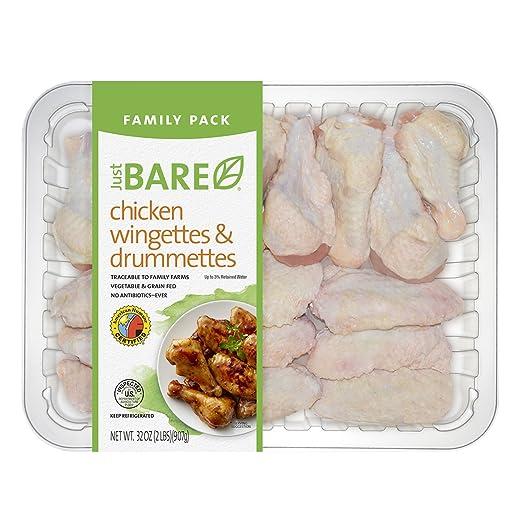 Just BARE Chicken, Chicken Wingette/Drummette, 2 lb