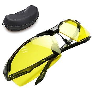 Unisex Gafas de visión nocturna para conducir, polarizadas Noche Gafas de conducción en blendenden faros