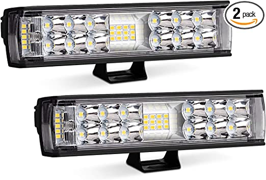 7 inch 60W LED Work Light Bar Spot Beam Combo Offroad 4WD SUV Driving Fog Light