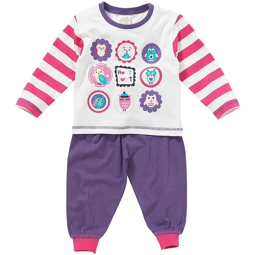 Lullaby Baby Girls Cute Owl Characters Pyjamas