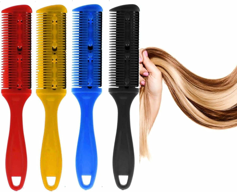 Vanker - Peine mágico con cuchilla profesional para cortar el pelo ...