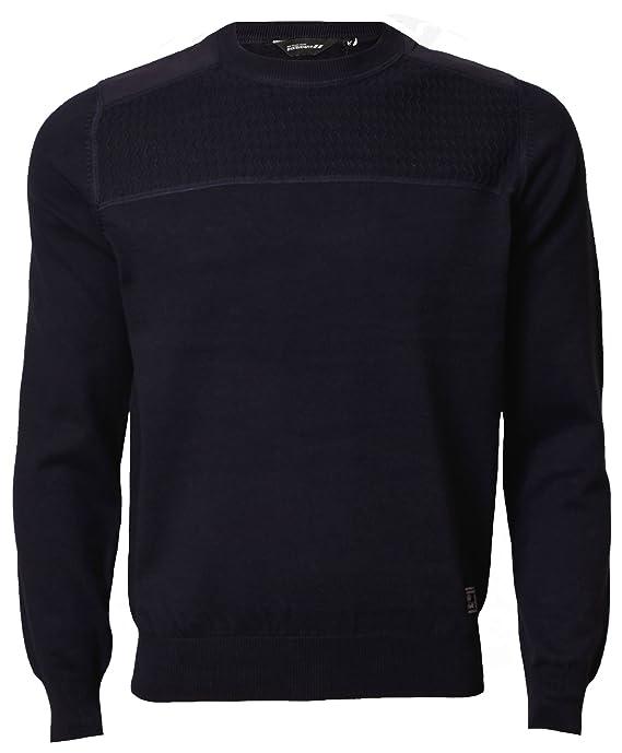 Mens Jumper Dissident 1A-2888 Pullover Sweater Knitwear Cotton Winter