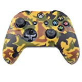 Hikfly Silicone Gel Controller Cover Skin Protector Kits for Xbox One Controller Video Games